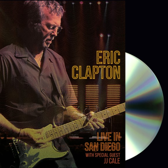 Cocaine Live Eric Clapton: DVD / Blu-ray Live In San Diego Available March 2017