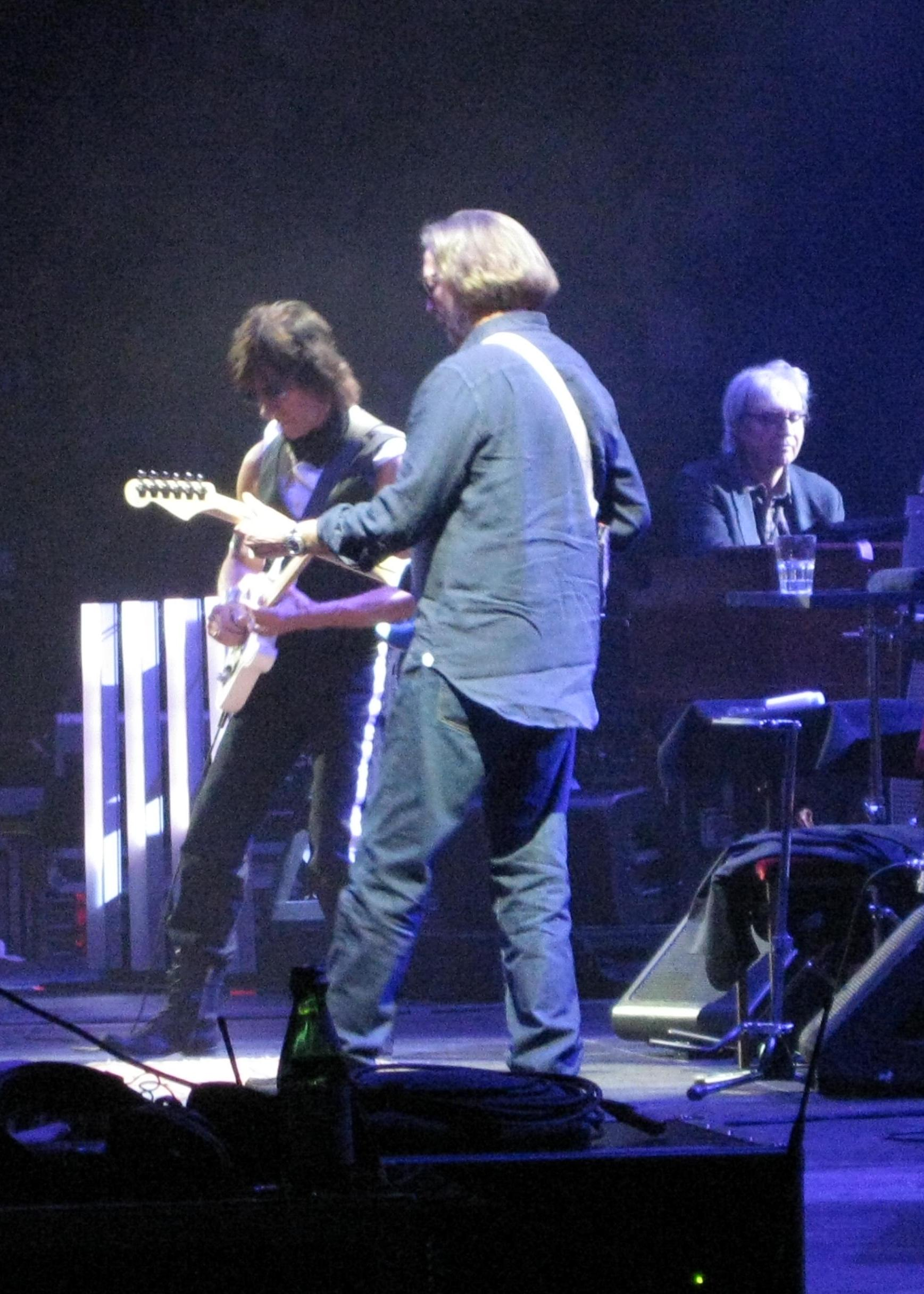 Eric Clapton Jeff Beck At Madison Square Garden Night One In Nyc