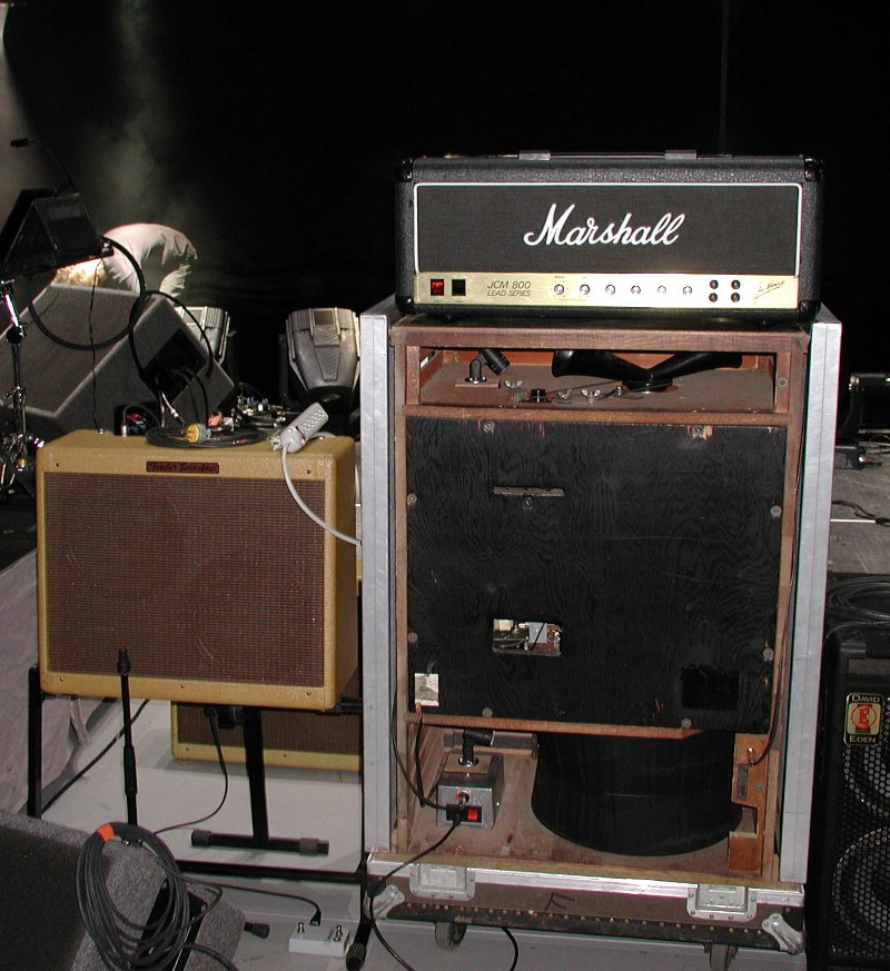 Eric Clapton S Guitar Amp And Equipment Set Up Historical