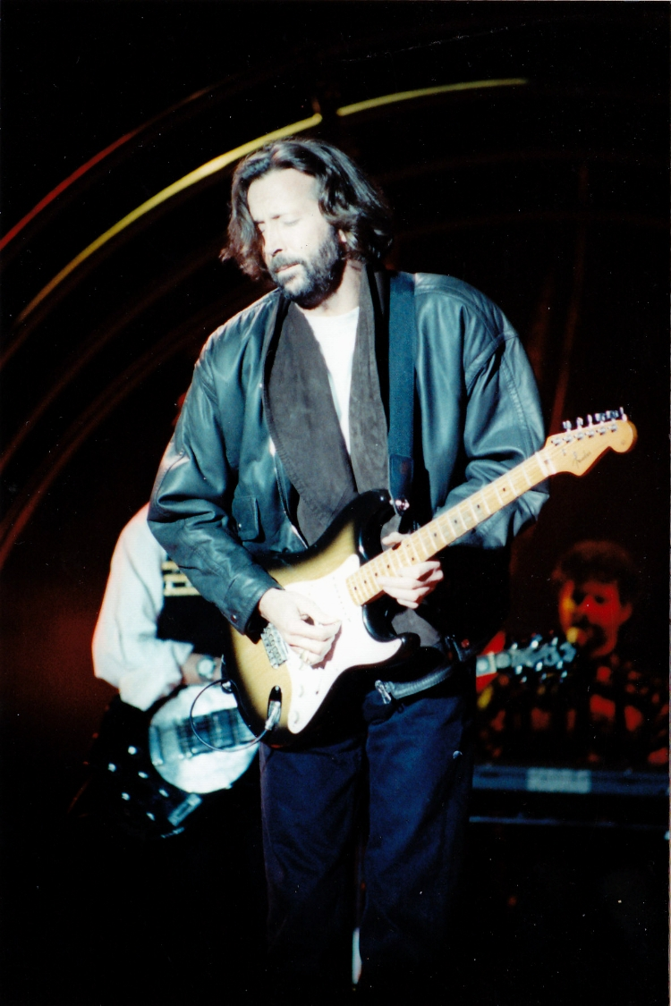 Eric Clapton Photo Gallery The 1980s