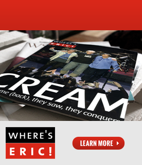 Rock a Subscription - Subscribe Now to Where's Eric! Magazine