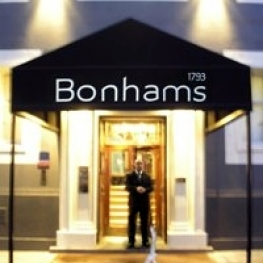 Bonhams Knightsbridge - site of first viewing of Clapton Crossroads 2011 Auction