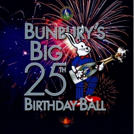 Bunbury's 25th Birthday Ball Logo