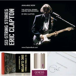 Six String Stories by Eric Clapton / www.ClaptonBook.com
