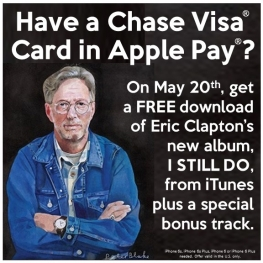 get eric clapton 39 s i still do with bonus track free from chase. Black Bedroom Furniture Sets. Home Design Ideas