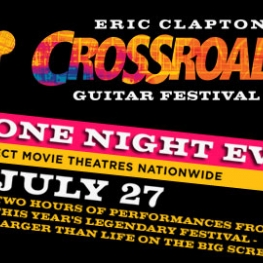 Logo Eric Clapton Crossroads Guitar Festival 2010 US Theatrical Event