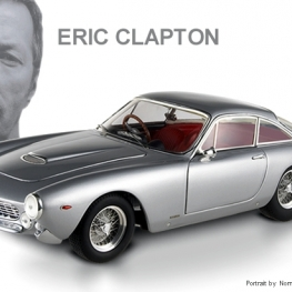 Hot Wheels Elite: Ferrari 250GT Berlinetta Lusso - Eric Clapton