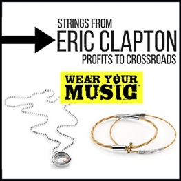 Eric Clapton Guitar String Jewelry