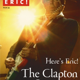 Where's Eric! The Eric Clapton Fan Club Magazine Issue #34