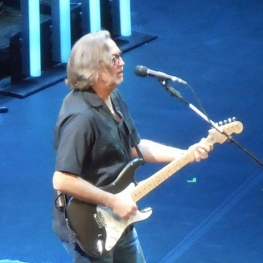 eric clapton with long hair, eric clapton fender stratocaster, orlando florida