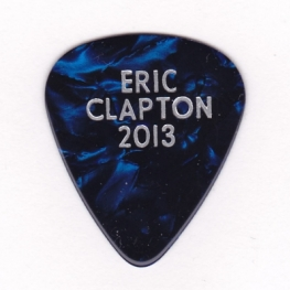 Eric Clapton Guitar Pick - 2013 (Where's Eric! Archive)