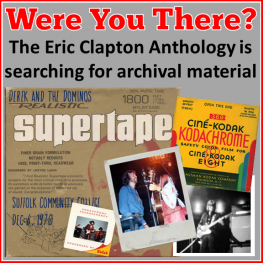 Eric Clapton Anthology - Photo, Video, Audio Search (2015 - Where's Eric!)