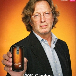 Limited Edition myTouch 3G Fender Smartphone - Eric Clapton