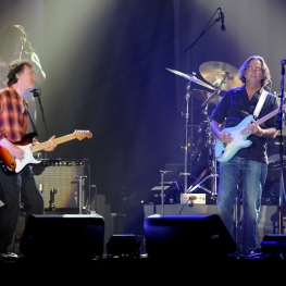 steve winwood, eric clapton, steve gadd, photo, wembley arena, 20 May 2010