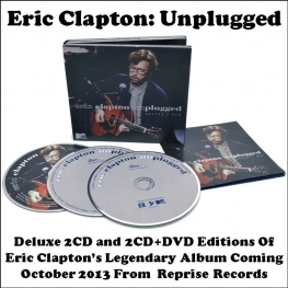 Eric Clapton Unplugged - Deluxe Editions (Reprise Records 2013)