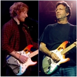 Ed Sheeran Eric Clapton - Crashocaster Original and Replica