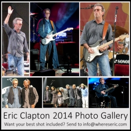 2014 Eric Clapton Photo Gallery - whereseric.com