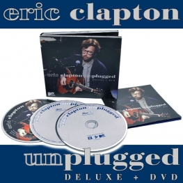 Eric Clapton Unplugged 2CD+DVD Deluxe Edition (2013 - Rhino)