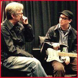 EC & Kurt Rosenwinkel (Photo courtesy Kurt Rosenwinkel)