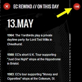 EC Rewind // On This Day - www.whereseric.com