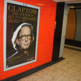 Clapton Advert at Green Park, London (September 2010)