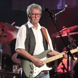 Eric Clapton on stage in Fukuoaka, Japan - 24 November 2011 (Photo: Hiro Kamei)