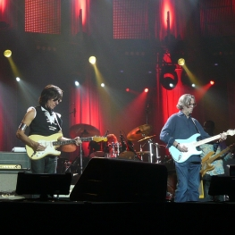 jeff beck and eric clapton at the o2 arena london sunday 14 february 2010