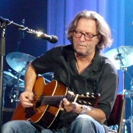 eric clapton playing martin acoustic guitar basel switzerland 26 may 2010