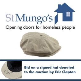 St Mungo's 2014 Woolly Hat Day Auction - Eric Clapton