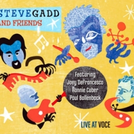 Steve Gadd and Friends: Live at Voce (2010) album art