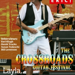 Where's Eric! Issue 42 (May 2011) Eric Clapton Fan Club Magazine