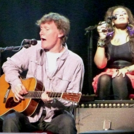 Steve Winwood, Michelle John - Clapton &amp; Winwood Japan Tour (Photo: Hiro Kamei)