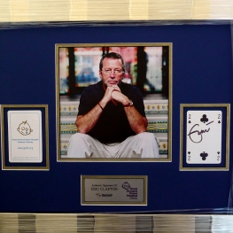 Eric Clapton StarCards Auction item for Great Ormond Street Childrens Hospital