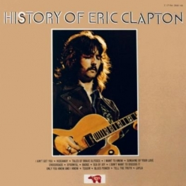 Eric Clapton Discography, track list, album art history or eric clapton