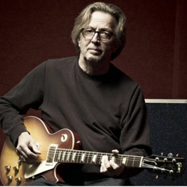 EC in 2010 with the limited edition Eric Clapton 1960 Les Paul from the Gibson C