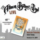 CD art Allman Brothers Band Clapton Live At The Beacon Theatre March 19, 2009