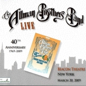 CD art Allman Brothers Band Clapton Live At The Beacon Theatre March 20 2009