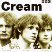 CD art for Cream - BBC Sessions (Clapton, Baker, Bruce)