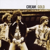 CD art for Cream Gold - Eric Clapton, Ginger Baker, Jack Bruce