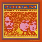 CD art for Cream - Royal Albert Hall: London May 2, 3, 5 & 6 2005