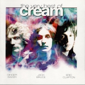 CD art for The Very Best of Cream (Clapton, Baker, Bruce)
