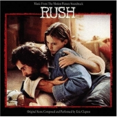 Eric Clapton - CD Artwork for Rush Soundtrack, which features Tears In Heaven