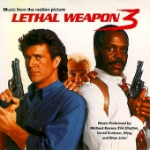 album art for Lethal Weapon 3 Soundtrack CD - with Eric Clapton, Michael Kamen