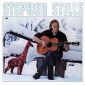 album art for Stephen Stills self-titled album with guest Eric Clapton