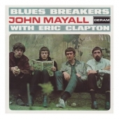 CD art for John Mayall Blues Breakers with Eric Clapton