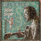 CD art for Buddy Guy Blues Singer featuring guest Eric Clapton