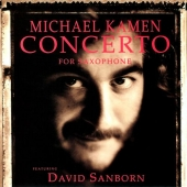track list art Kamen Sanborn Concerto for Saxophone with Clapton, Gilmour