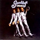 CD art for Cream Goodbye (Clapton, Baker, Bruce)