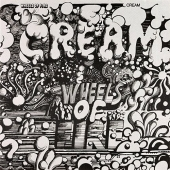 CD art for Cream Wheels of Fire (Clapton, Baker, Bruce)