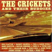 CD art for The Crickets and Their Buddies (with Clapton, Jennings, Nash, more)